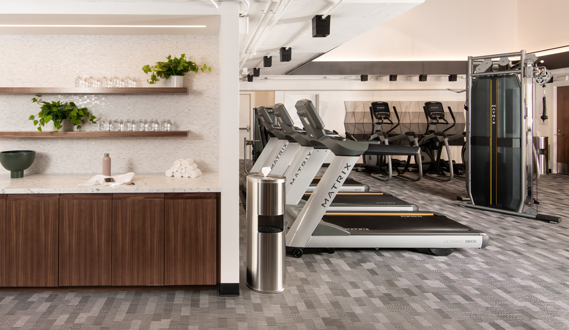 Fitness Center at the Victor Building