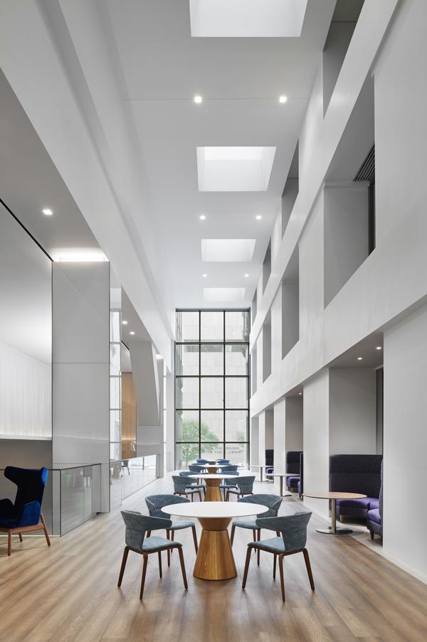 Interior meeting area