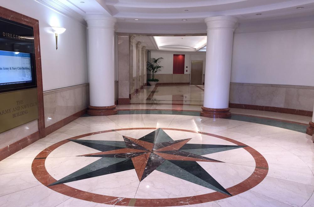 Army Navy Building Lobby Interior