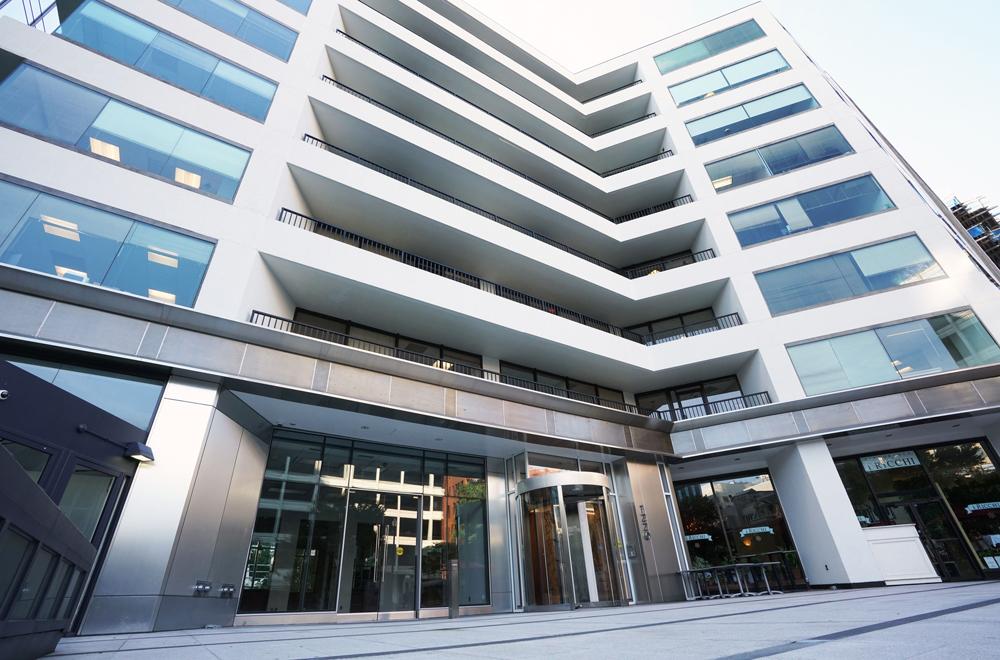 1220 19th Street Office Building Main Entrance