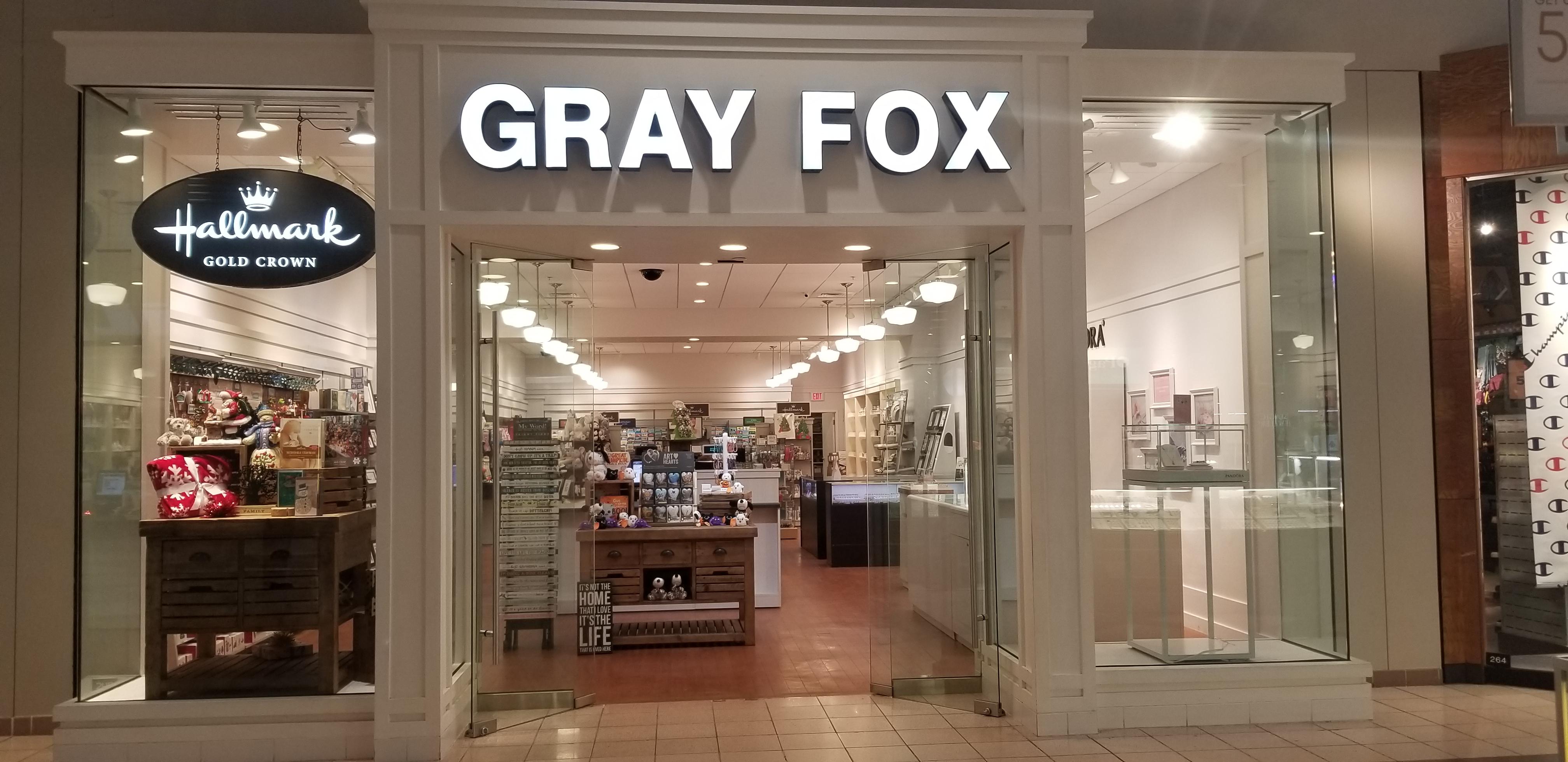 Hall Mark Gray Fox