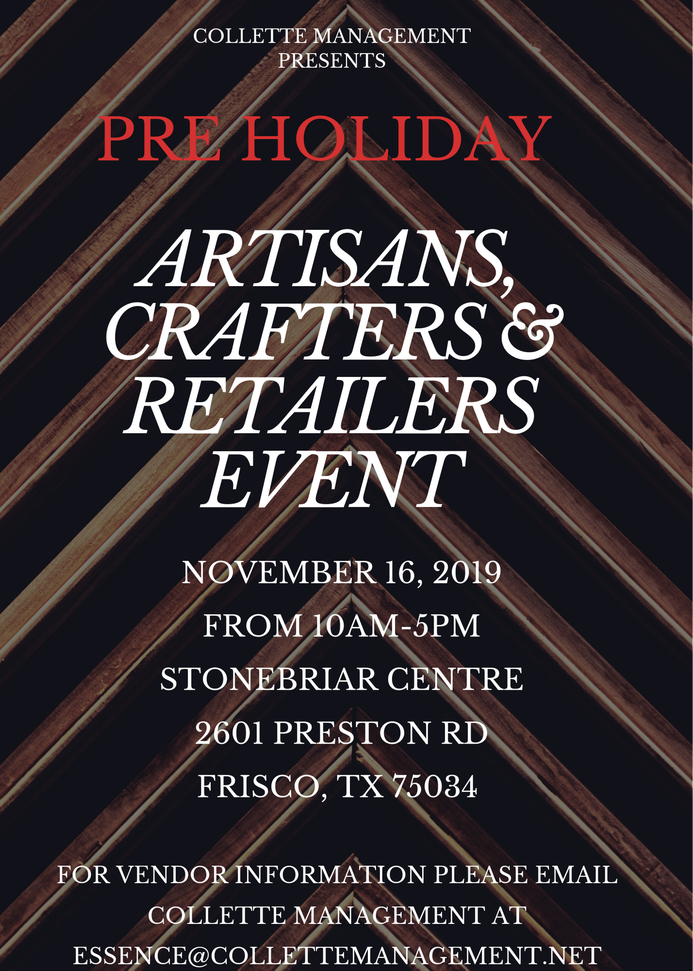 Artisans, Crafters & Retailers