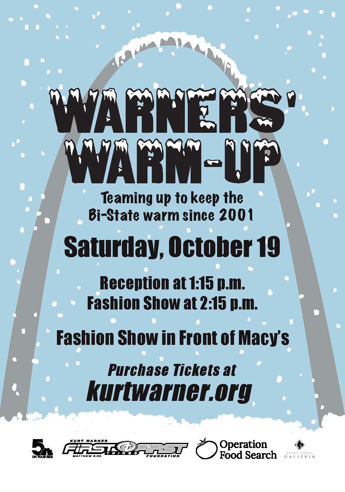 Warners' Warn-Up Fashion Show and Coat Drive