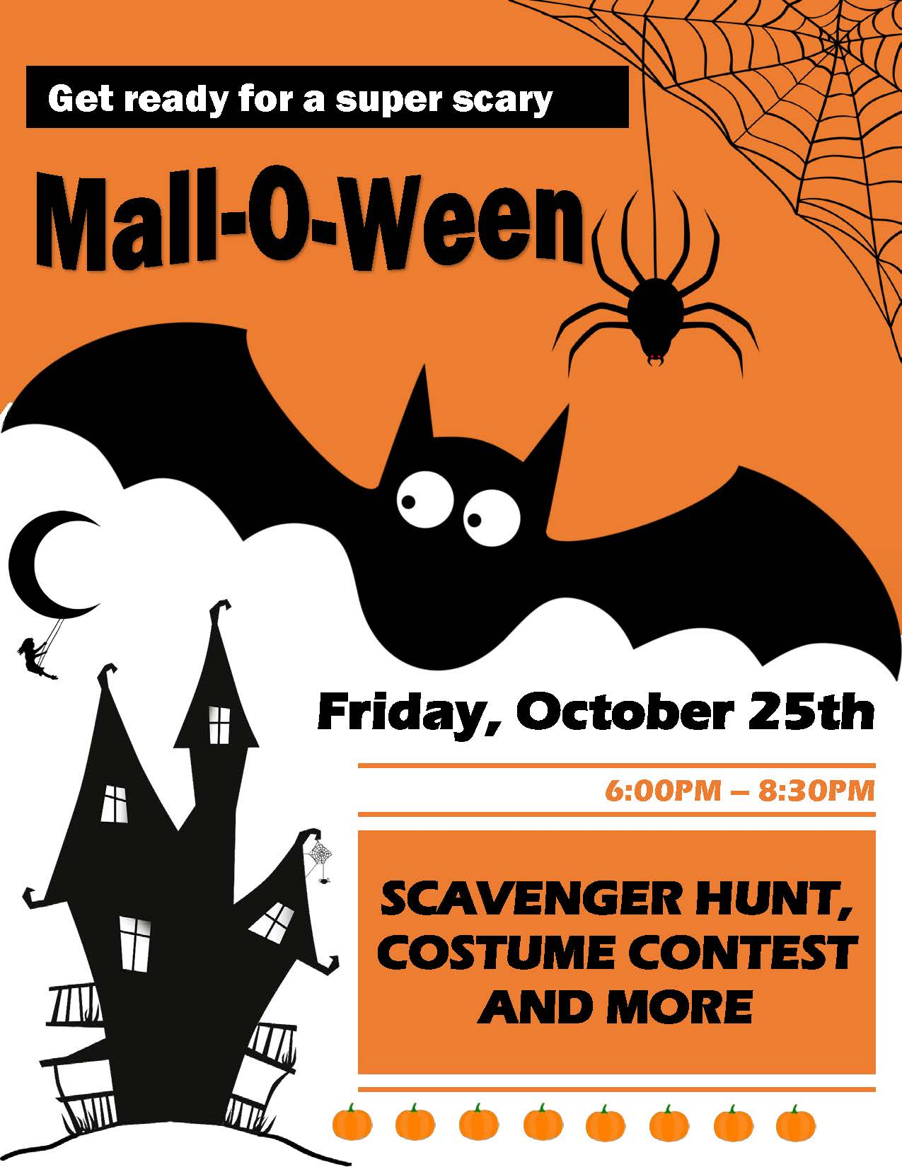 3rd Annual Mall-O-Ween