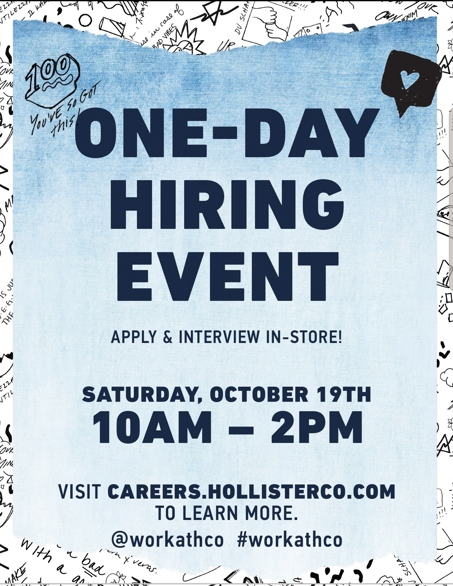 One-Day Hiring Event