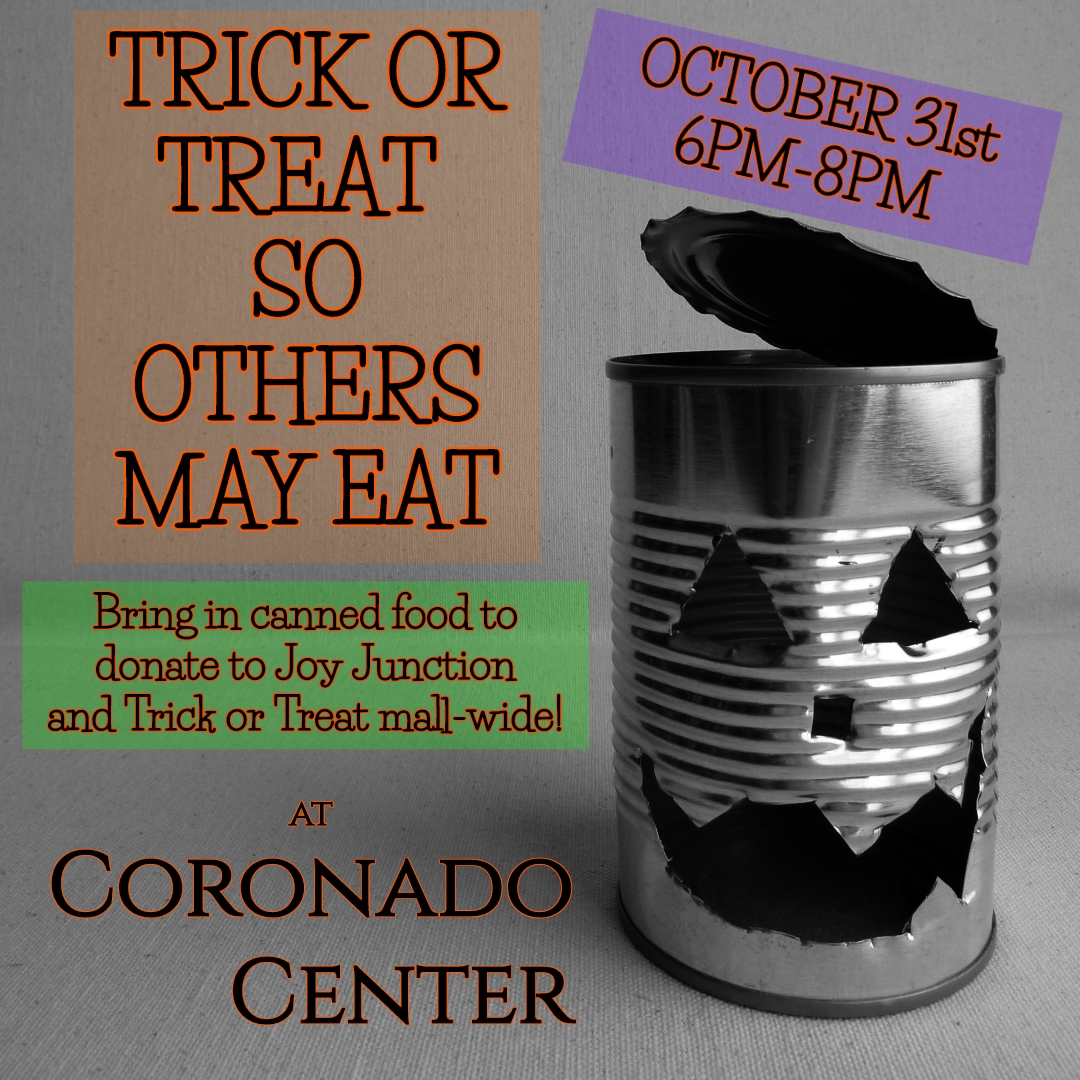 Trick or Treat So Others May Eat