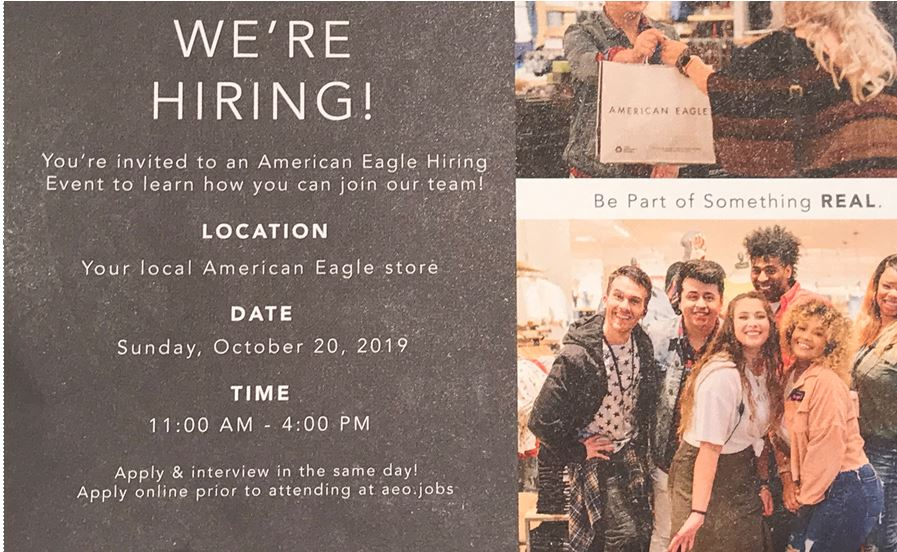 American Eagle Outfitters Hiring Event