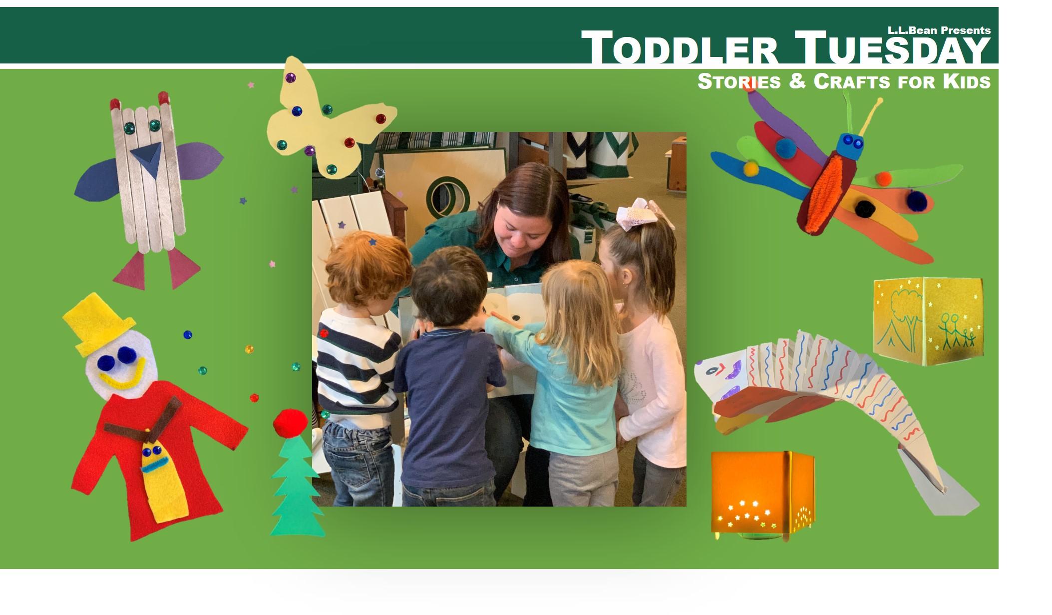 L.L.Bean Toddler Tuesday