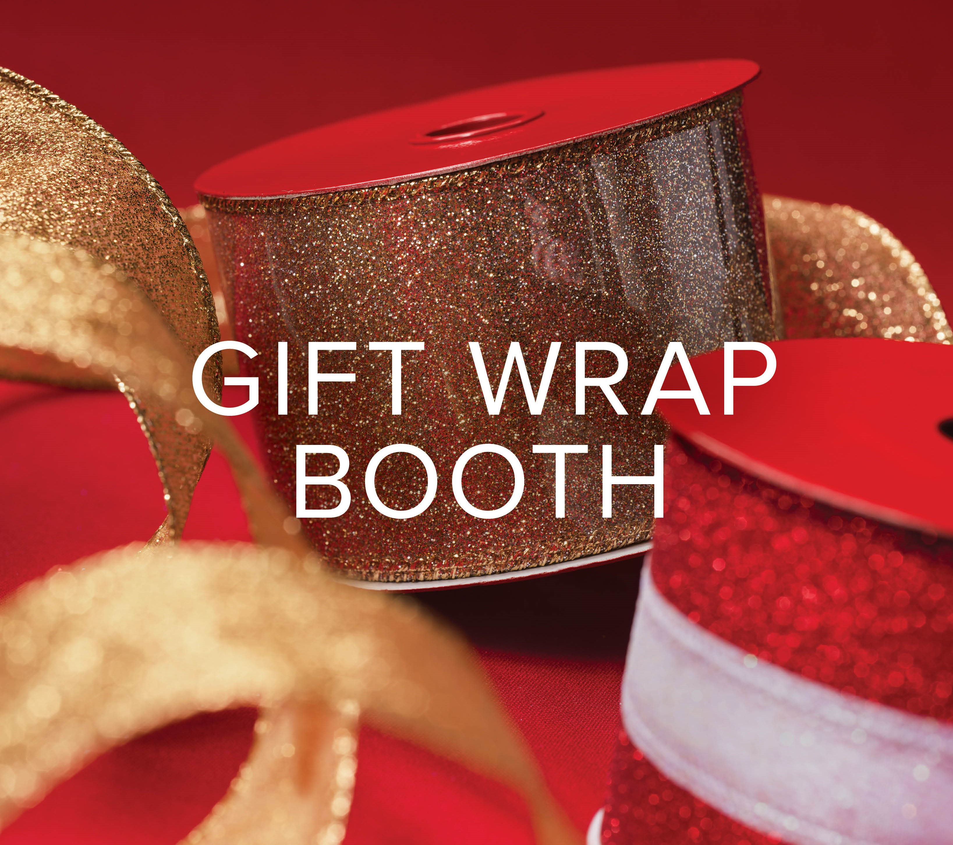 Charity Gift Wrap Booth