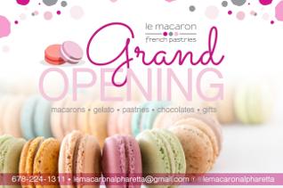 LeMacaron Grand Opening