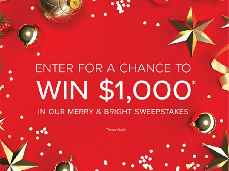 Holiday Sweepstakes