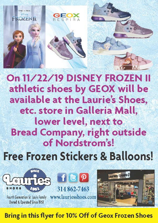 Disney Frozen II Athletic Shoes by Geox