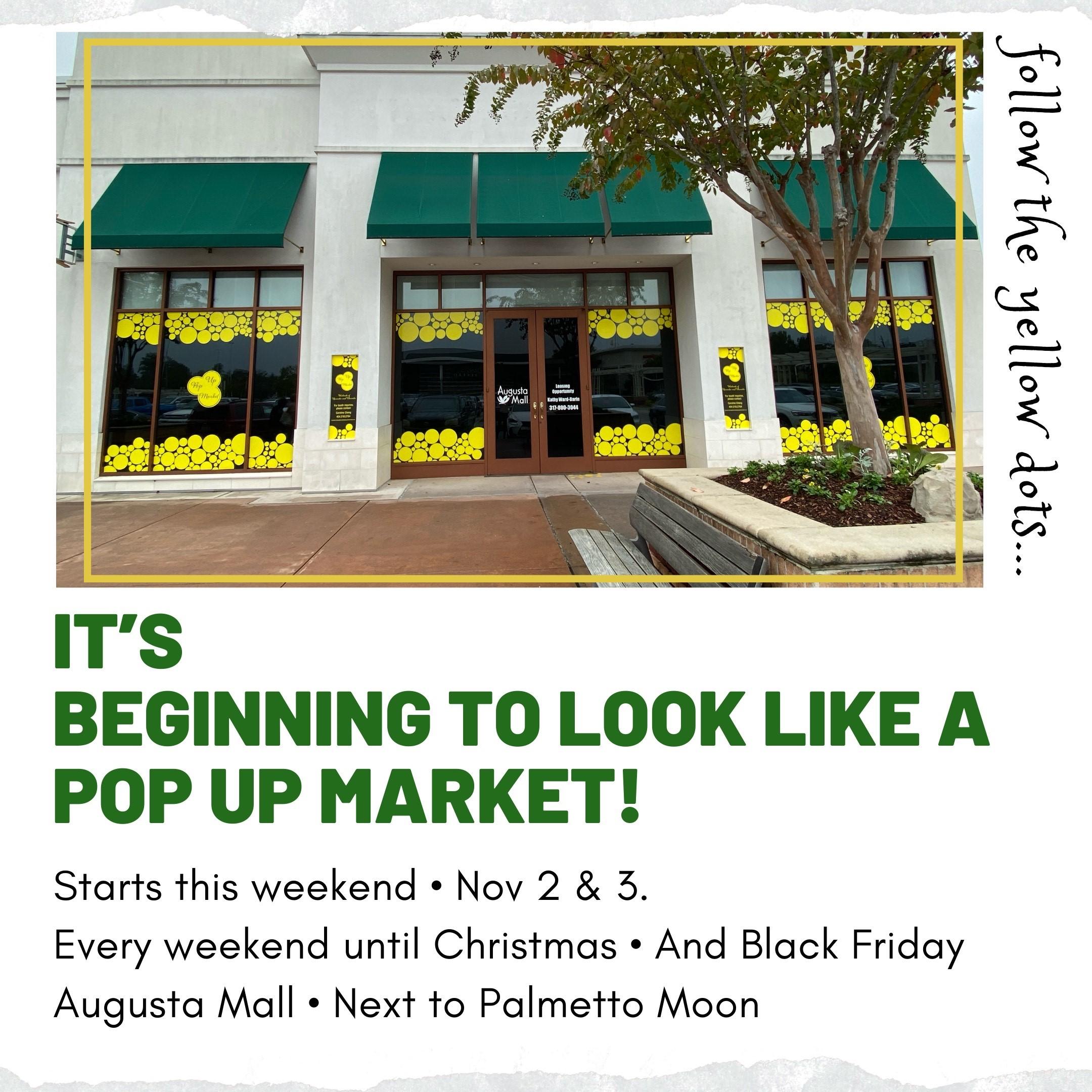 Shop our 1st annual Pop Up Market