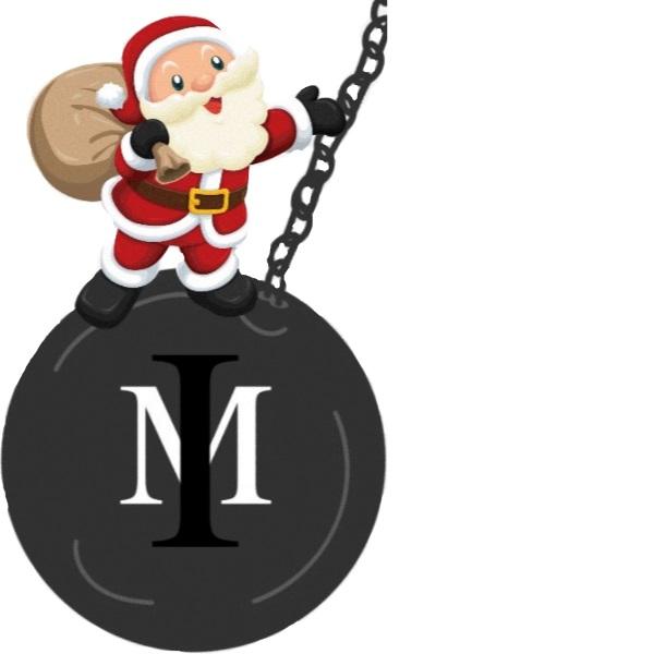 Santa Wrecking Ball