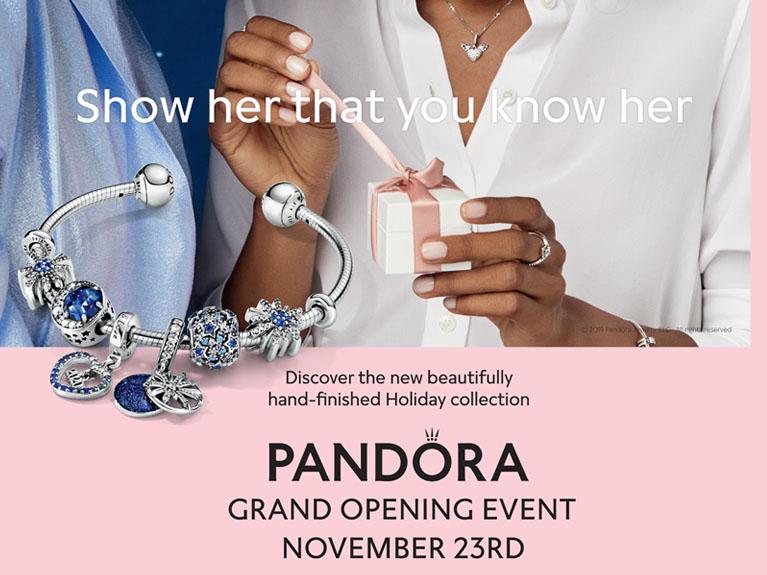 Pandora Grand Opening