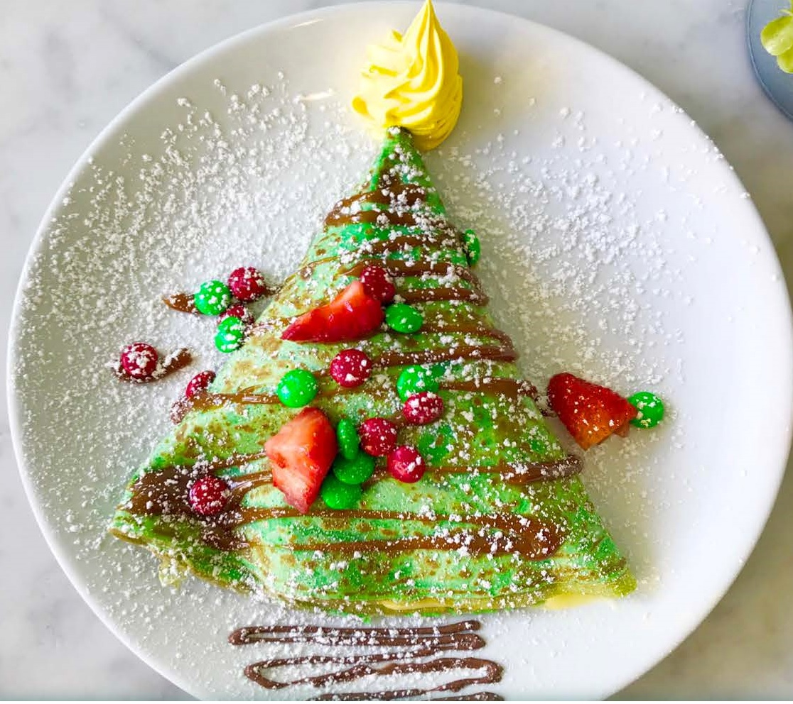 The Grinch Crepe
