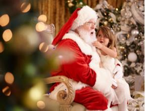 Enjoy Story Time with Santa