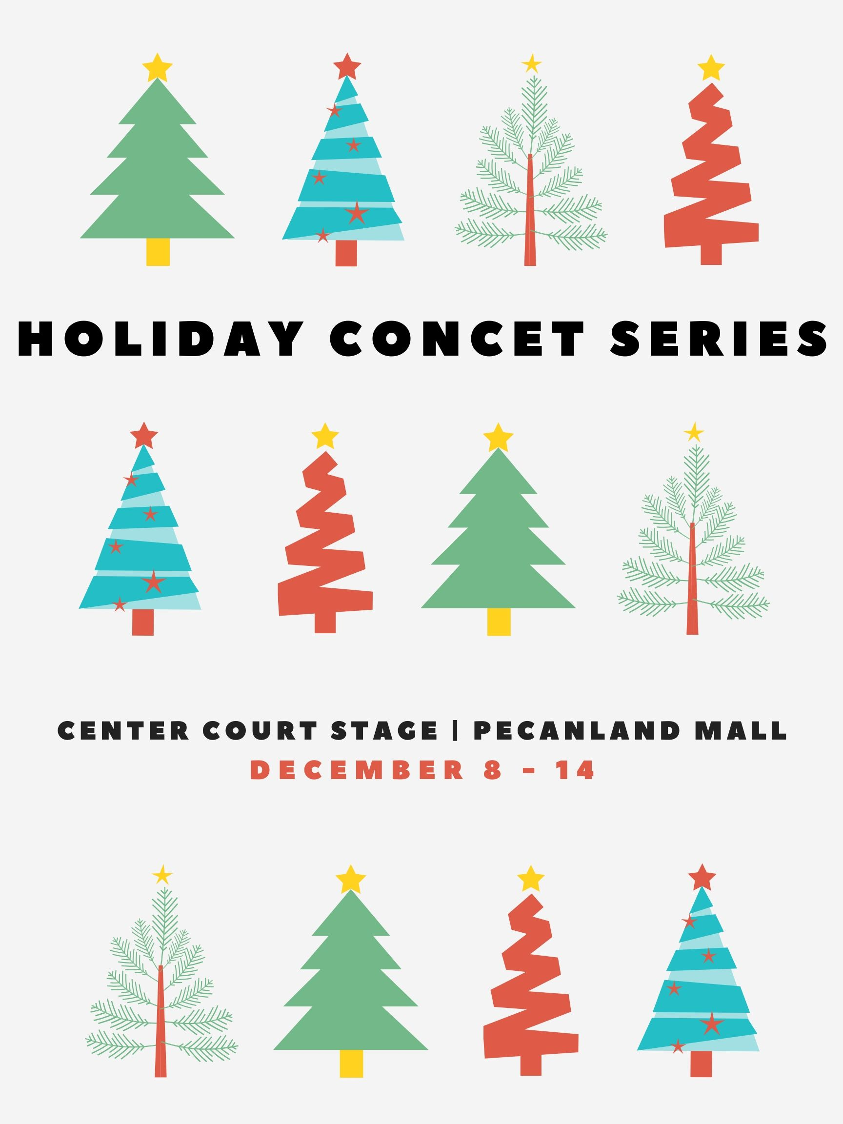 Pecanland Mall's Holiday Concert Series