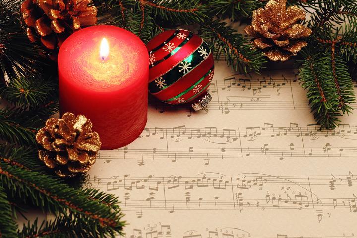 holiday music or caroling