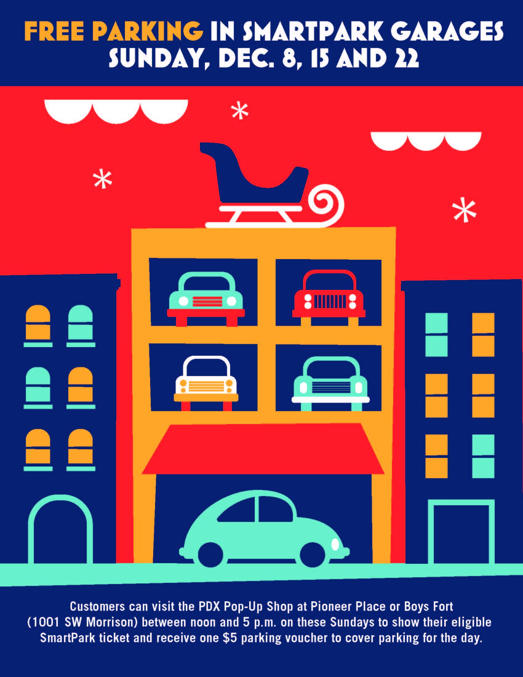 Free SmartPark Parking