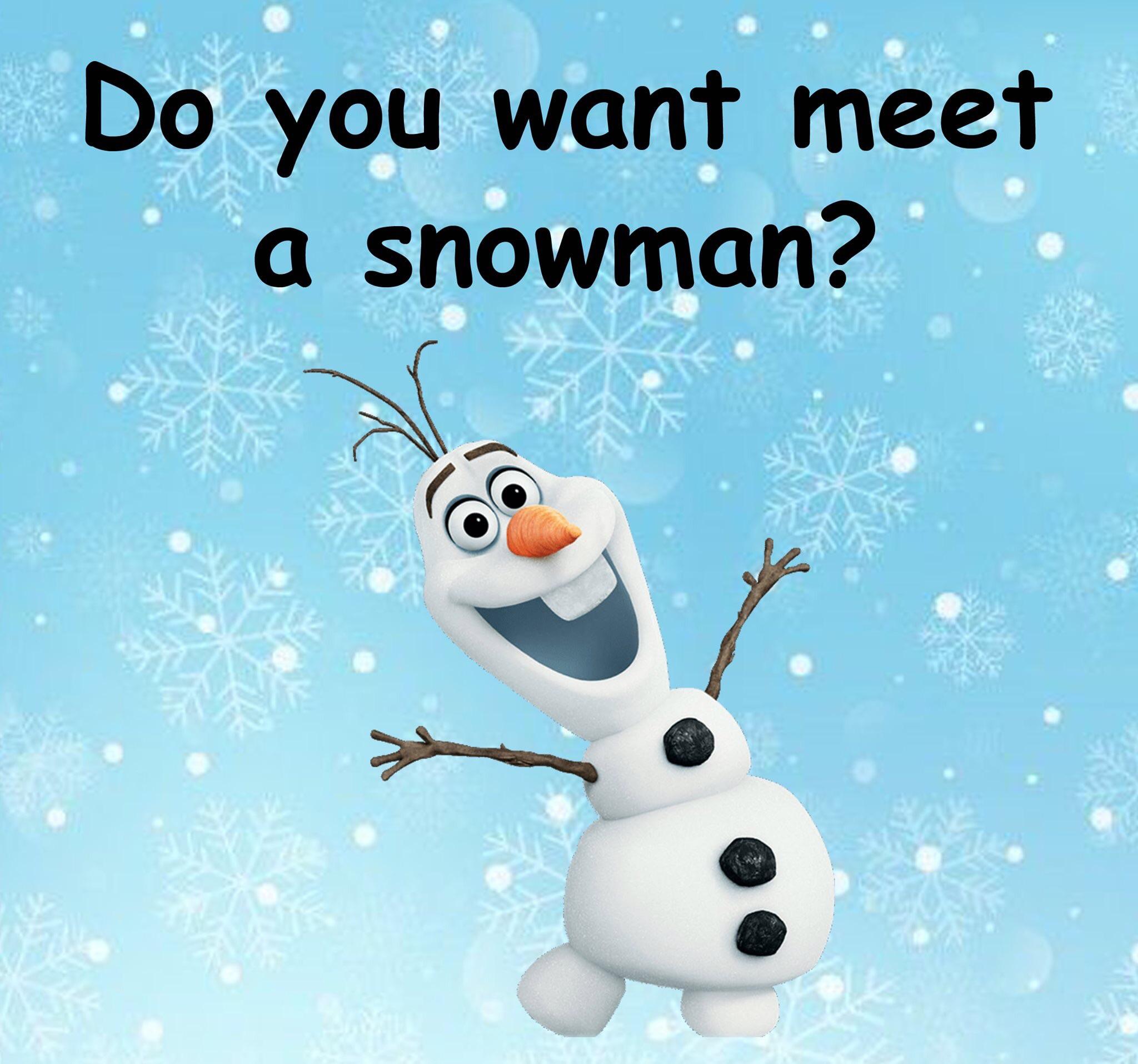 Meet & Greet with Olaf