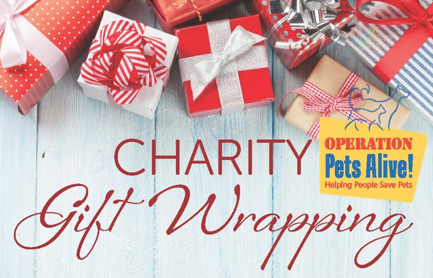 Operation Pets Alive Gift Wrapping