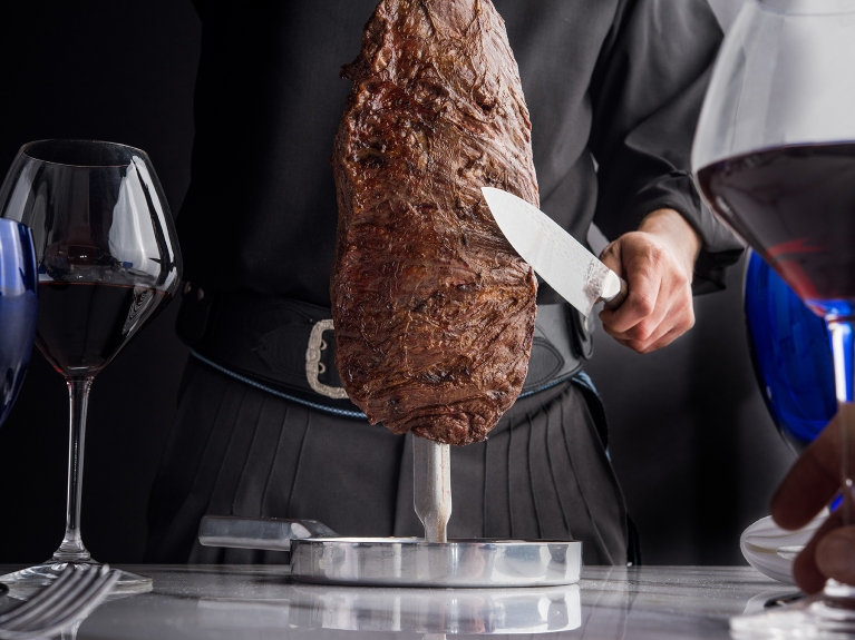 gaucho table side meat