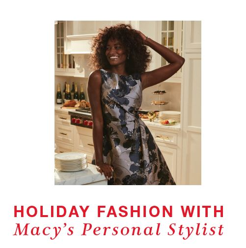 Holiday Fashion with a Personal Stylist!