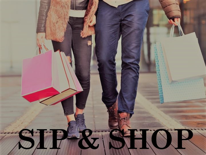 Sip & Shop Event