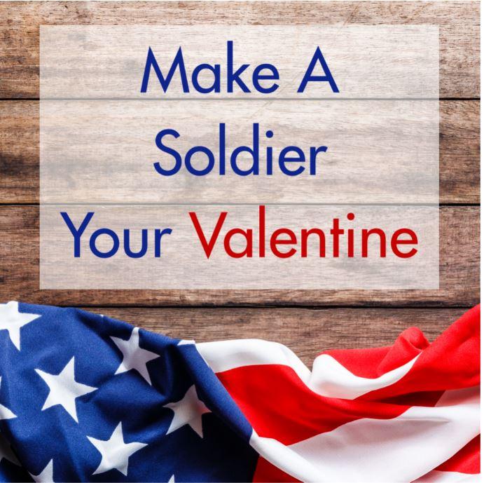 Make a soldier your Valentine