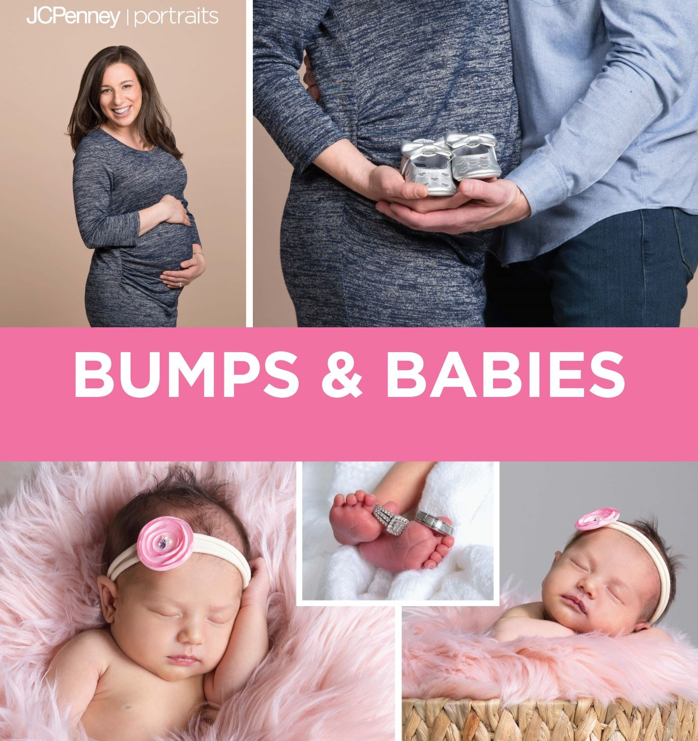 JCPenney Portrait's one-day Newborn and Maternity photo event on Thursday, February 20th