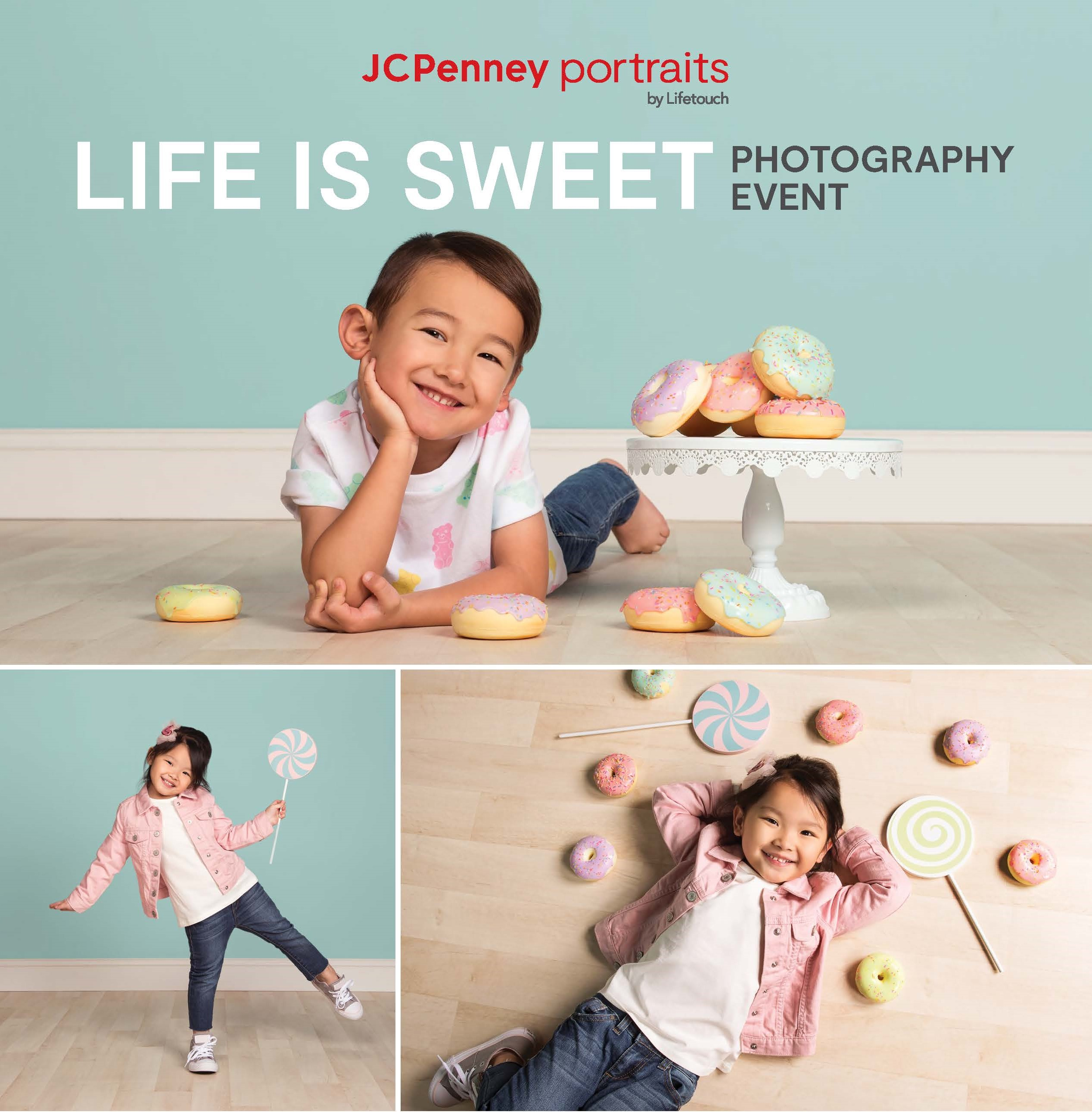 """JCPenney Portrait's """"Life is Sweet"""" photo event from Feb 27-March 1"""