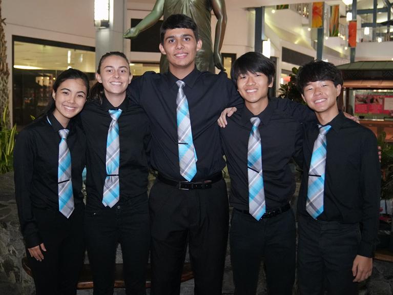 Moanalua High School Brass Quintet