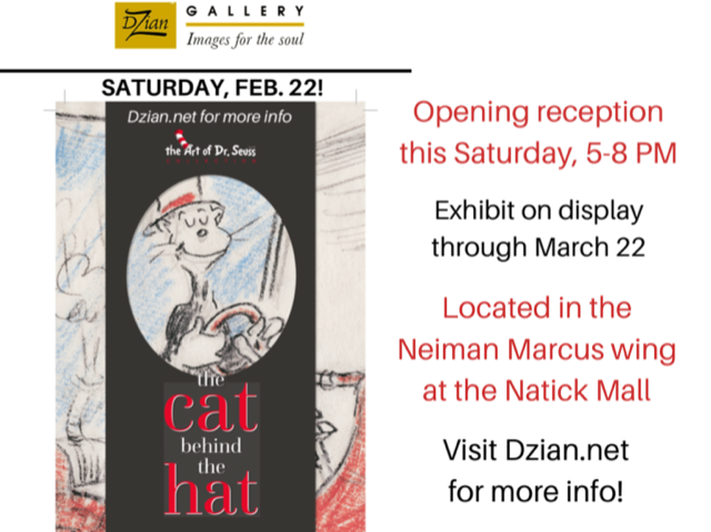 Dr. Seuss Opening Reception at Dzian Gallery Natick Mall