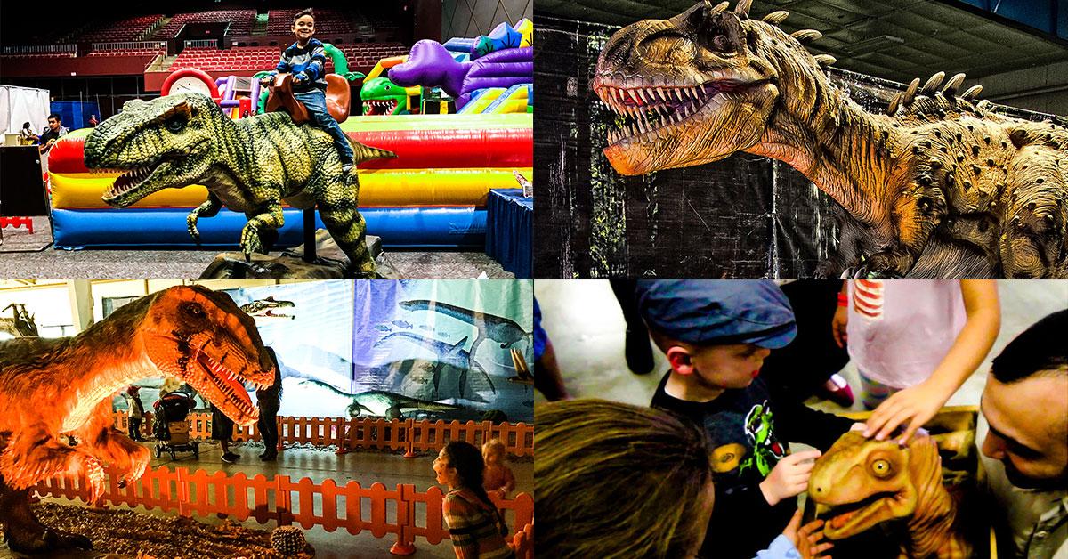 Come meet your favorite dinosaur