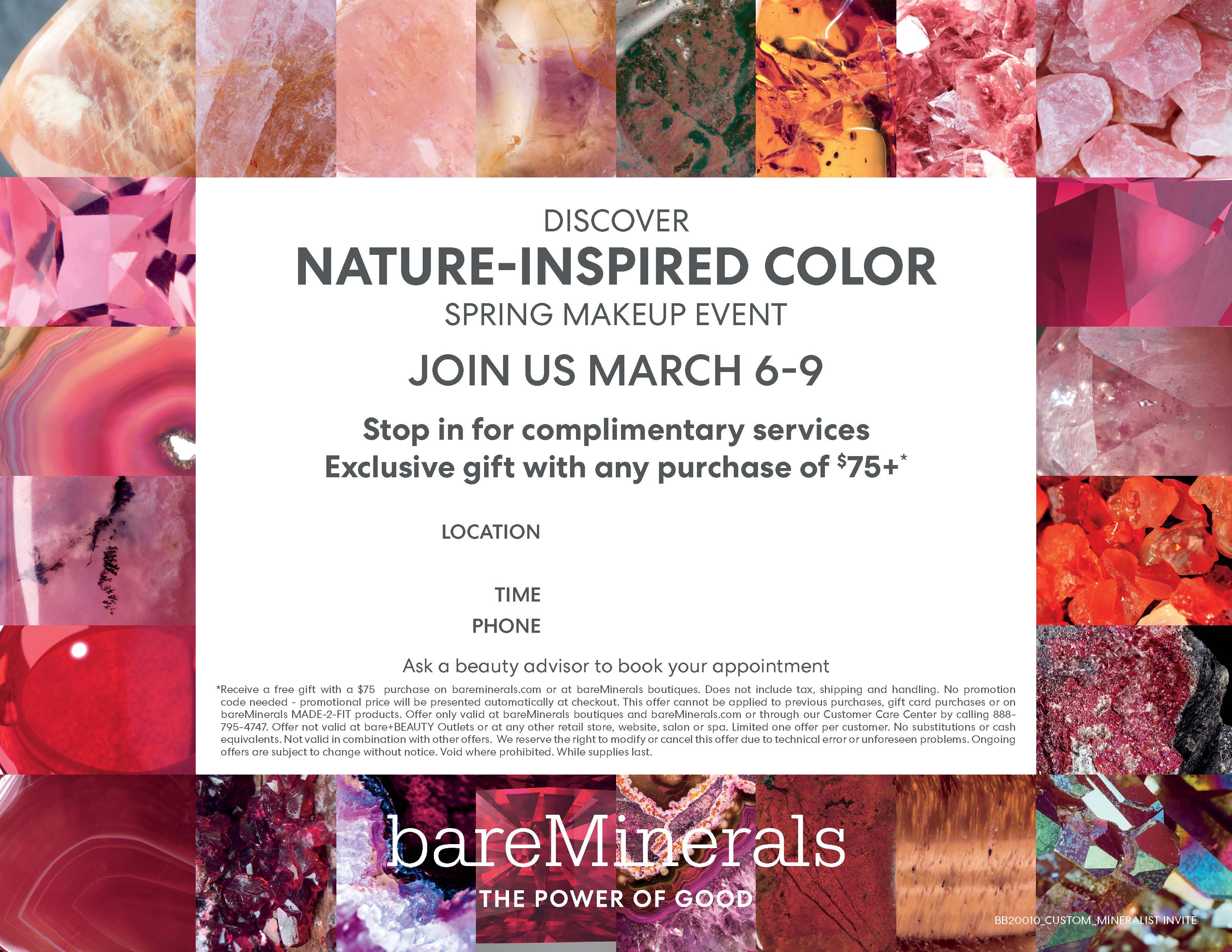 Discover NATURE-INSPIRED COLOR