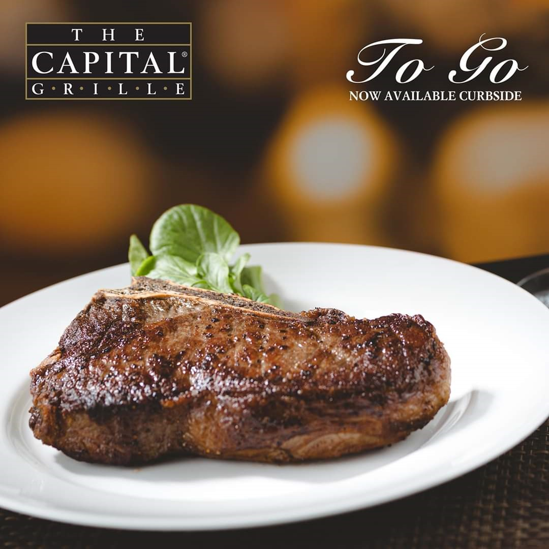 ENJOY THE CAPITAL GRILLE AT HOME