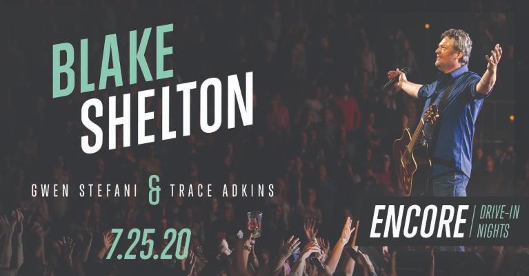 blake shelton in concert