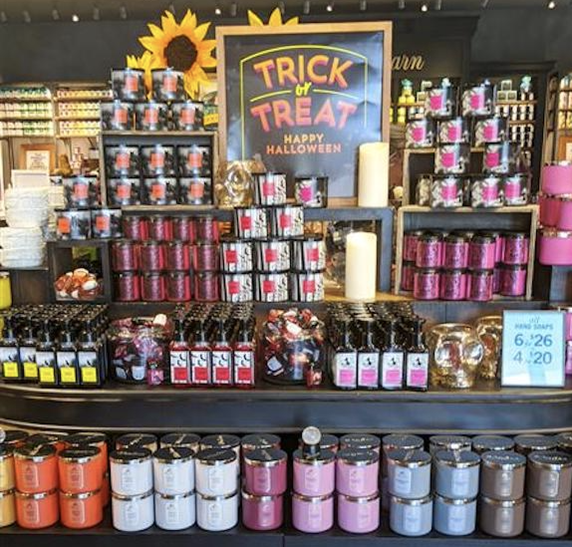 The countdown to Halloween is on! Head to @BathandBodyWorks to trick-or-treat yourself with NEW scary-good fragrances & décor – in stores NOW! 👻🔮🎃