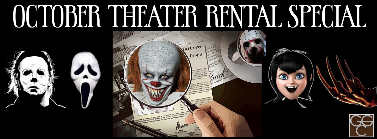 October Theater Rental Special