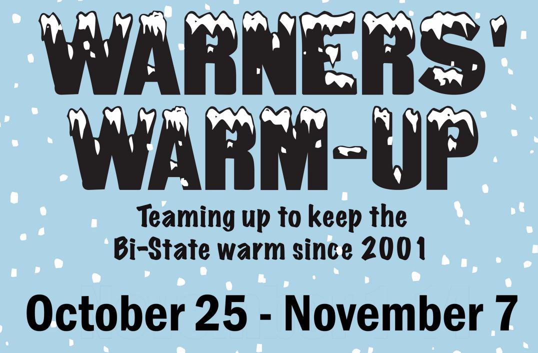 Warner's Warm Up Coat Drive