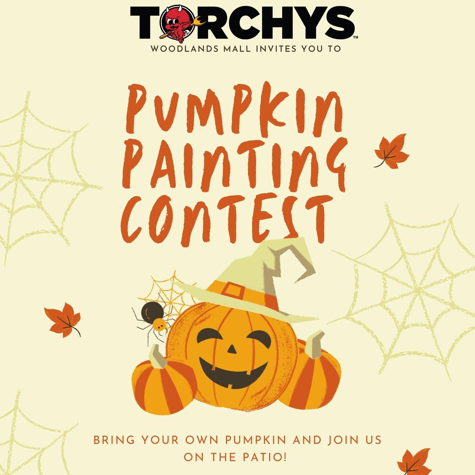 Pumpkin Painting Contest