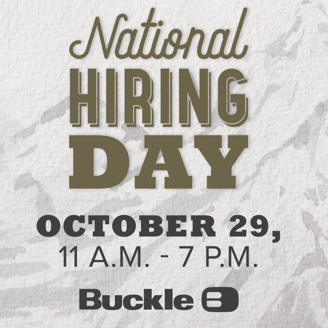 National Hiring Day at Buckle!