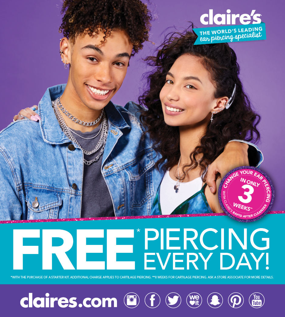 Free Piercing Every Day