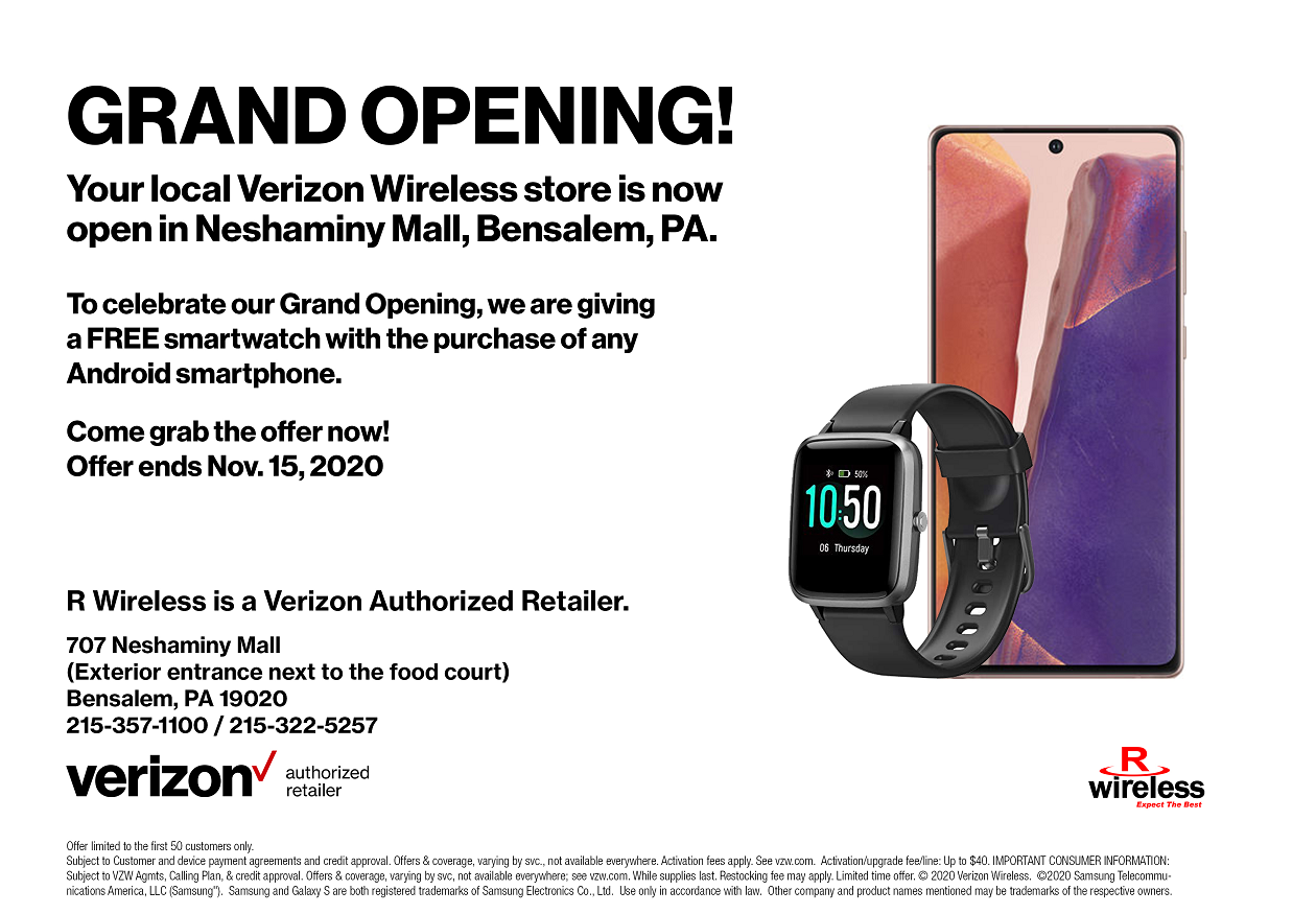 Free Smartwatch with Android purchase