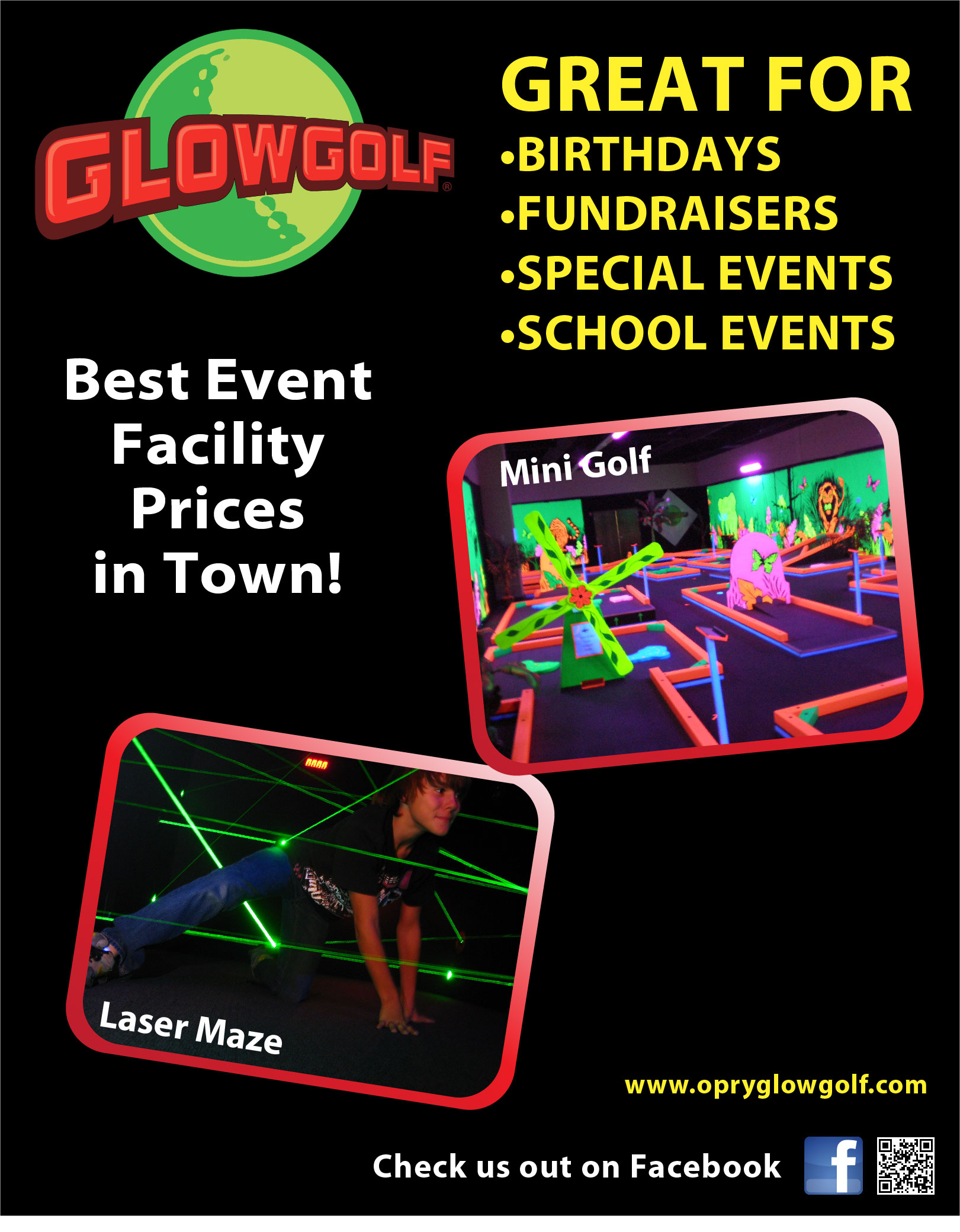 Glowgolf Groups