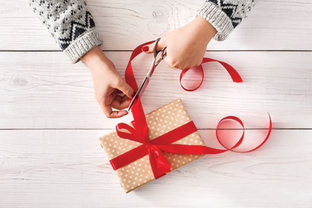 Get your packages wrapped and help a worthy Cause