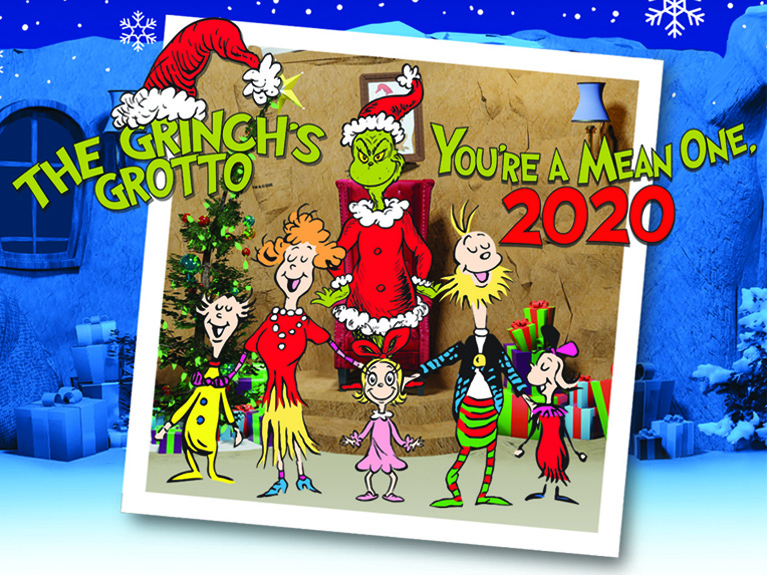 The Grinch's Grotto event
