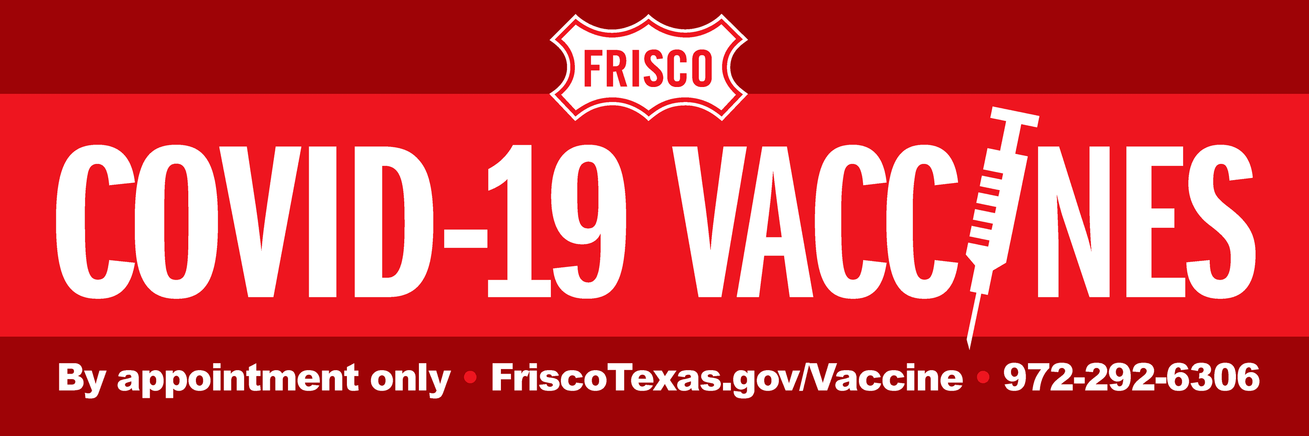 City of Frisco Vaccination Hub Appointment Registration