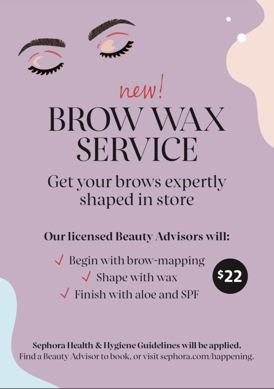 Brow Wax Service